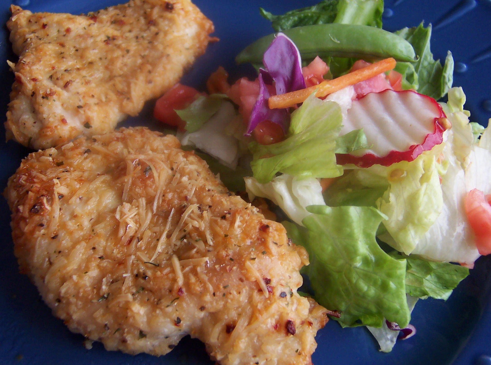 Easy Parmesan Garlic Chicken Recipe