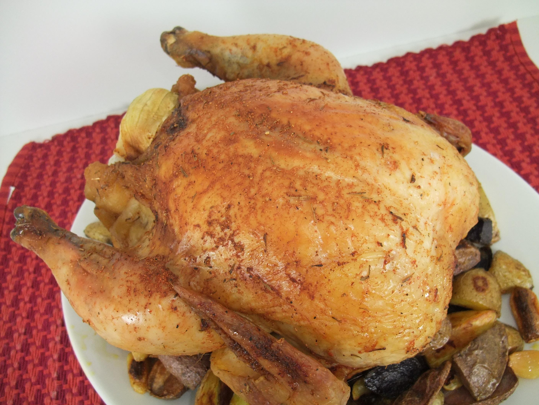"Roast ""Sticky"" Chicken Recipe"