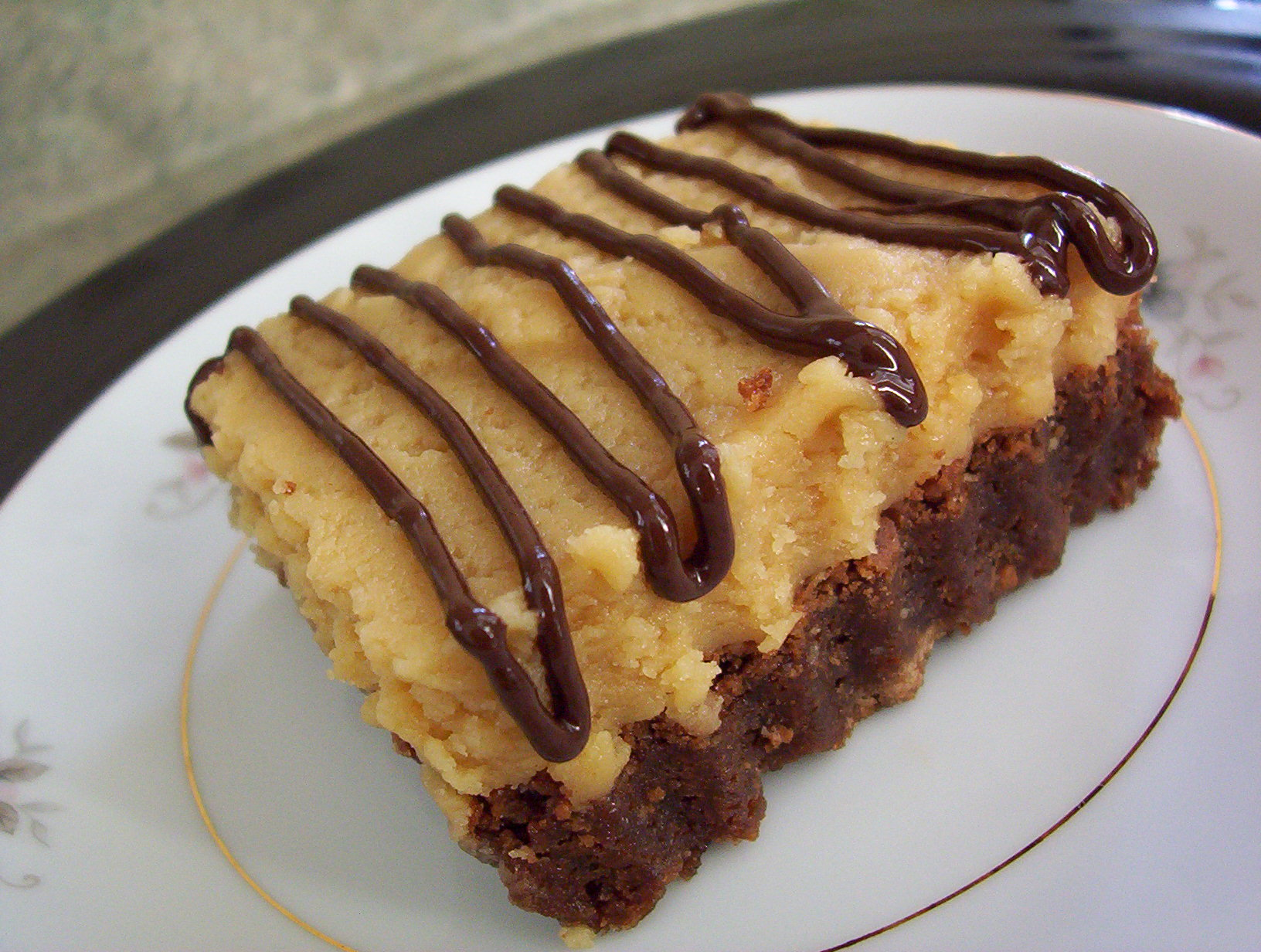 Super Peanut Butter Filled Brownies