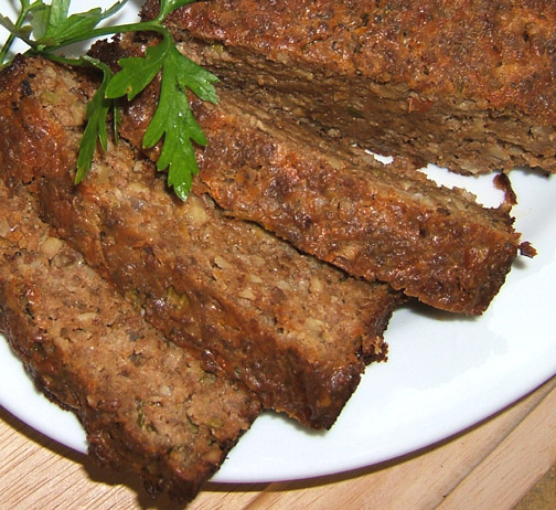 Cottage Cheese Roast (Vegetarian Meatloaf) Recipe