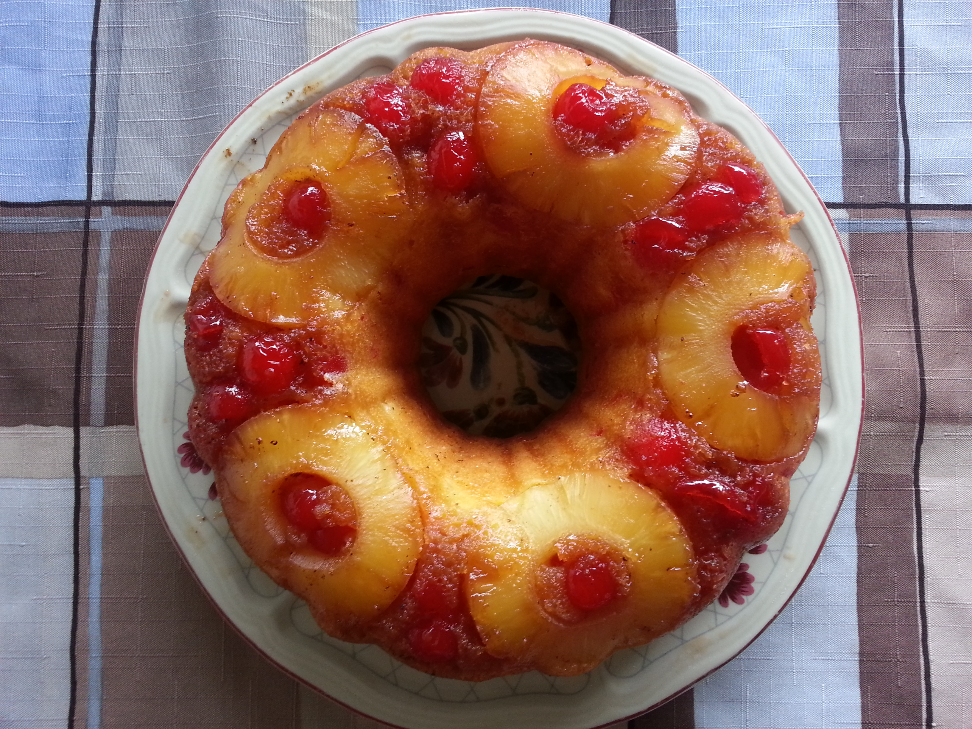 Pineapple Upside Down Bundt Cake Recipe