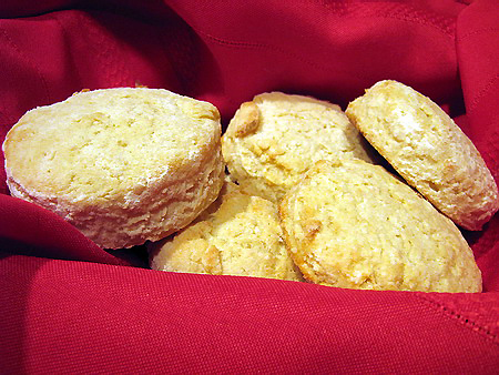 Simple Sour Cream Biscuits