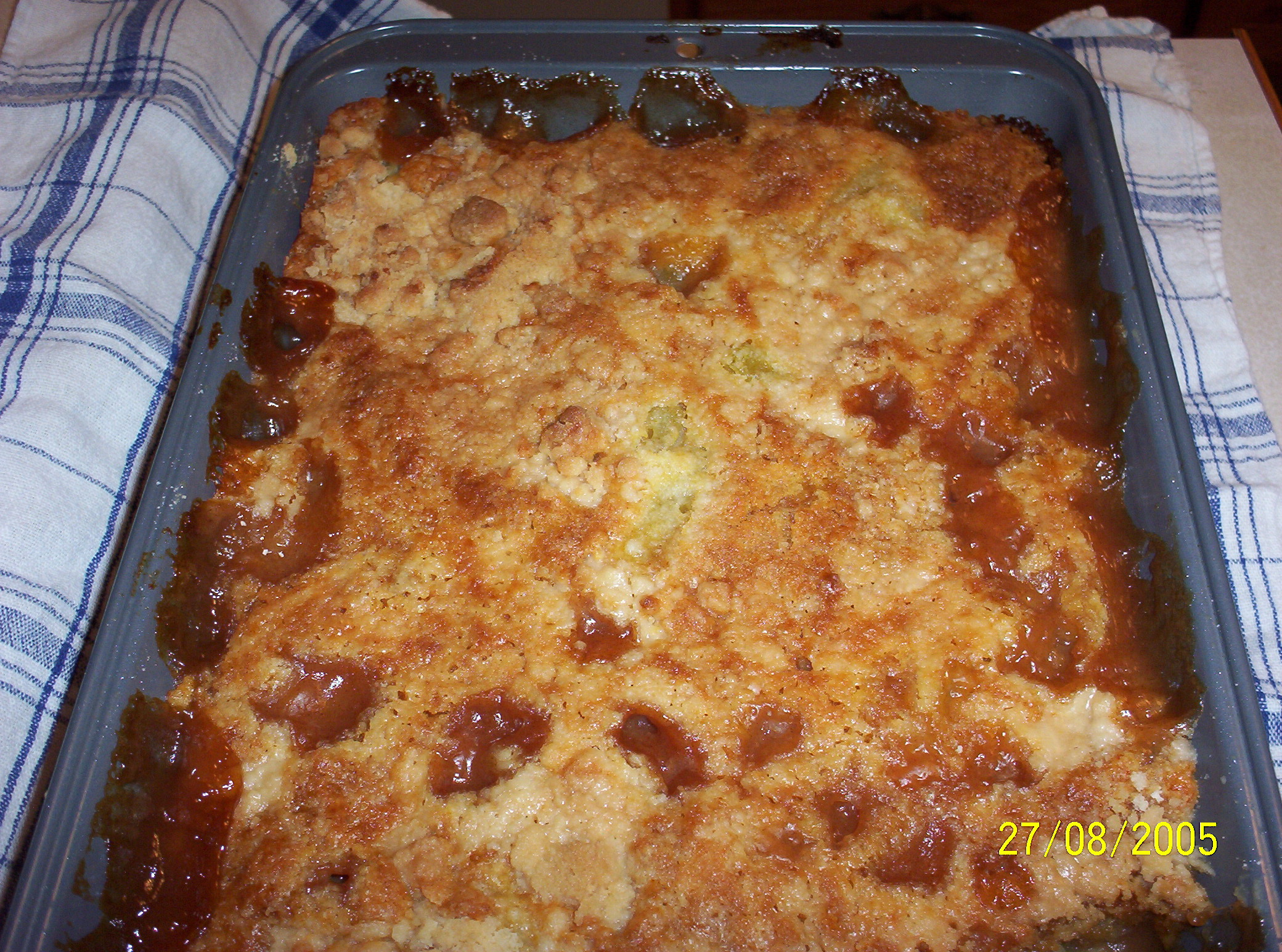 Zucchini Cobbler