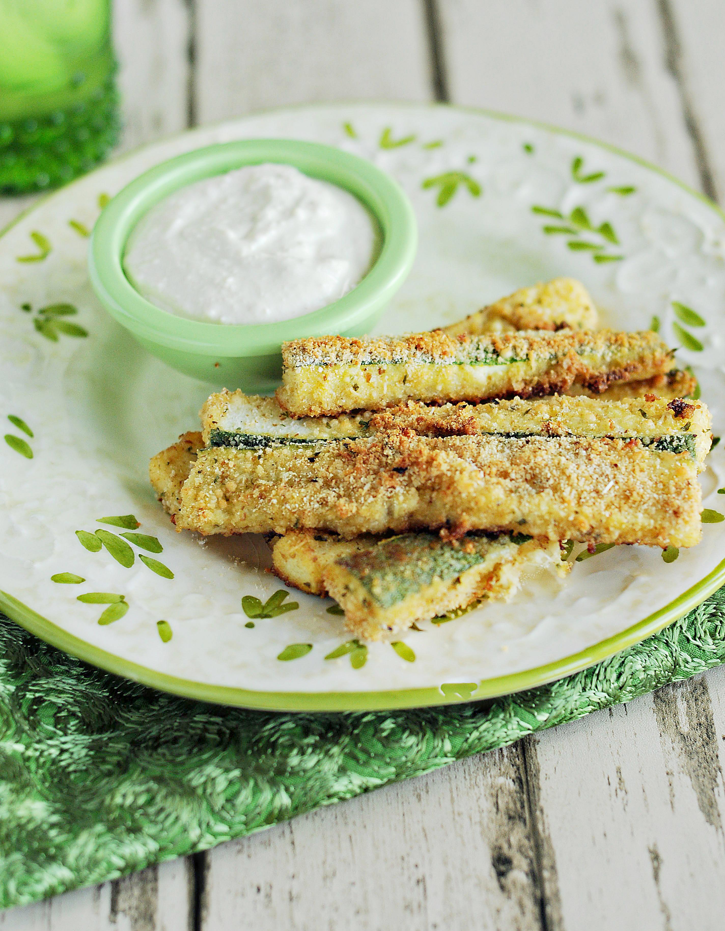 Wonderful Parmesan Zucchini Strips