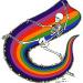rainbowapronblackballoon