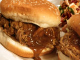 Carolina Style Pulled Pork Sandwich