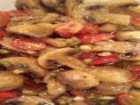 Marinated Curry Tomatoes and Mushrooms