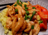 Stir-Fry Chicken With Garlic Sauce
