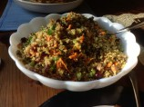 Curry Quinoa With Almonds and Cranberries
