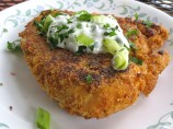 Fiesta Chicken With Jalapeno Cilantro Creme
