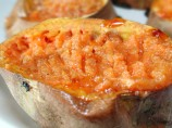 Kicked up Baked Sweet Potatoes