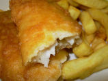 Real English Fish and Chips With Yorkshire Beer Batter