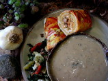 Italian Roasted Garlic Soup