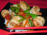 Stir-Fried Shrimp in Garlic Sauce