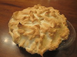 My Mom's Rhubarb Custard Pie