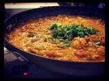 Moroccan Spiced Chickpea or Garbanzo Soup