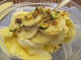 Nitko's Banana and Pistachio Ice-Cream Topping