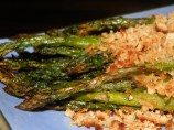 Roasted Asparagus With Crunchy Parmesan Topping