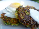 Zucchini Fritters With Sour Cream Sauce
