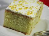 Old Fashioned Triple Lemon Cake