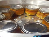 Canned Peaches With Bourbon