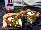 Curried A1 Goat Cheese Pizza #A1