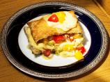 Chicken Vol-Au-Vent With Tomato Mango Relish #A1