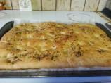 Rosemary - Garlic Focaccia