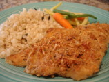 Oven-Fried Garlic Chicken