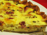 Dubliner, Ham, and Pineapple Quiche