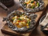 Velveeta Italian-Seasoned Chicken Campfire Packs