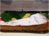"""White Caprese"" Cake Gluten Free"