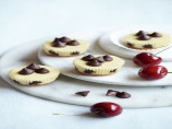 Mini Almond Cheesecakes With Cherry Flavored Filled DelightFulls