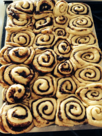 Screamin' Cinnamon Rolls with Cream Cheese Frosting. Photo by Kookla