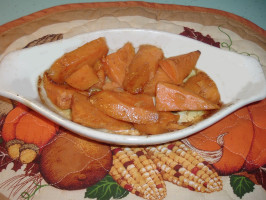 Whisky (Or Bourbon) Baked Sweet Potatoes (Or Yams). Photo by Bergy