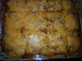 Baked Spaghetti Casserole. Photo by happygirl2u2