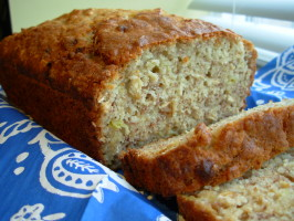 Banana-Oatmeal Bread. Photo by Fiddler