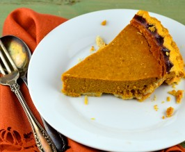 Libby's Famous Pumpkin Pie. Photo by May I Have That Recipe