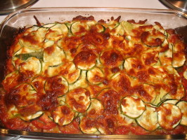 Zucchini and Summer Squash Gratin With Parmesan and Fresh Thyme. Photo by spatchcock