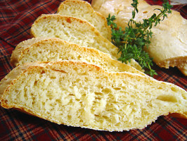 Crusty French Bread. Photo by Sue Lau
