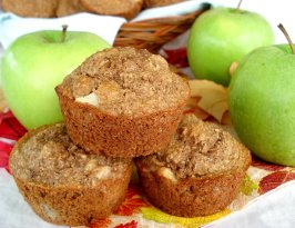 Low Fat (But Tasty!) Buttermilk Apple Bran Muffins Ww Friendly. Photo by Marg (CaymanDesigns)