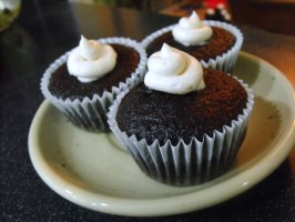 Mimi's Whoopie Pie Filled Chocolate Cupcakes. Photo by The Milocat