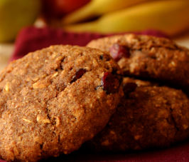 Pumpkin Cranberry Breakfast Cookie. Photo by GaylaJ