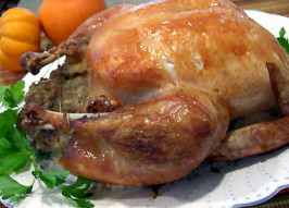 Simple/Easy Stuffed Roast Chicken With Gravy (For Beginners). Photo by Derf