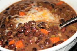 TSR Version of T.G.I. Friday's Black Bean Soup by Todd Wilbur. Photo by ~Nimz~
