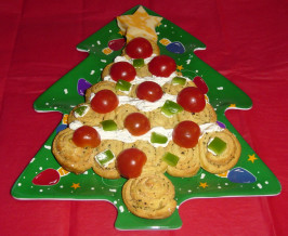 Holiday Italian Herb Crescent Christmas Trees. Photo by ~cbw~