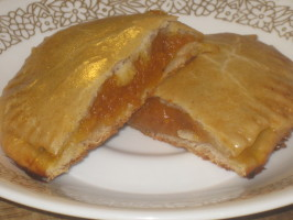 Cinnamon-Pumpkin Empanadas ( Empanadas De Calabazas). Photo by Chef Sarita in Austin Texas