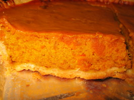 Thanksgiving Pumpkin Pie (Uses Fresh Pumpkin). Photo by pooknnook