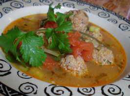 Best Albondigas Soup. Photo by Sandi (From CA)