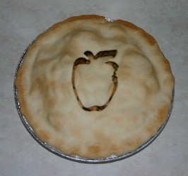 Cousin Jim's Amazing Apple Pie. Photo by SashasMommy